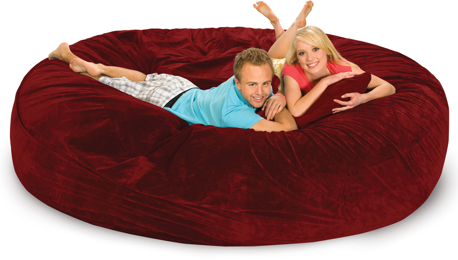 Couple on 8ft Round Sack