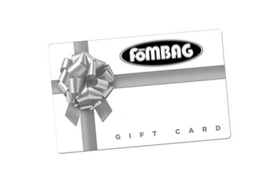A visual representation of a Fombag Gift Card