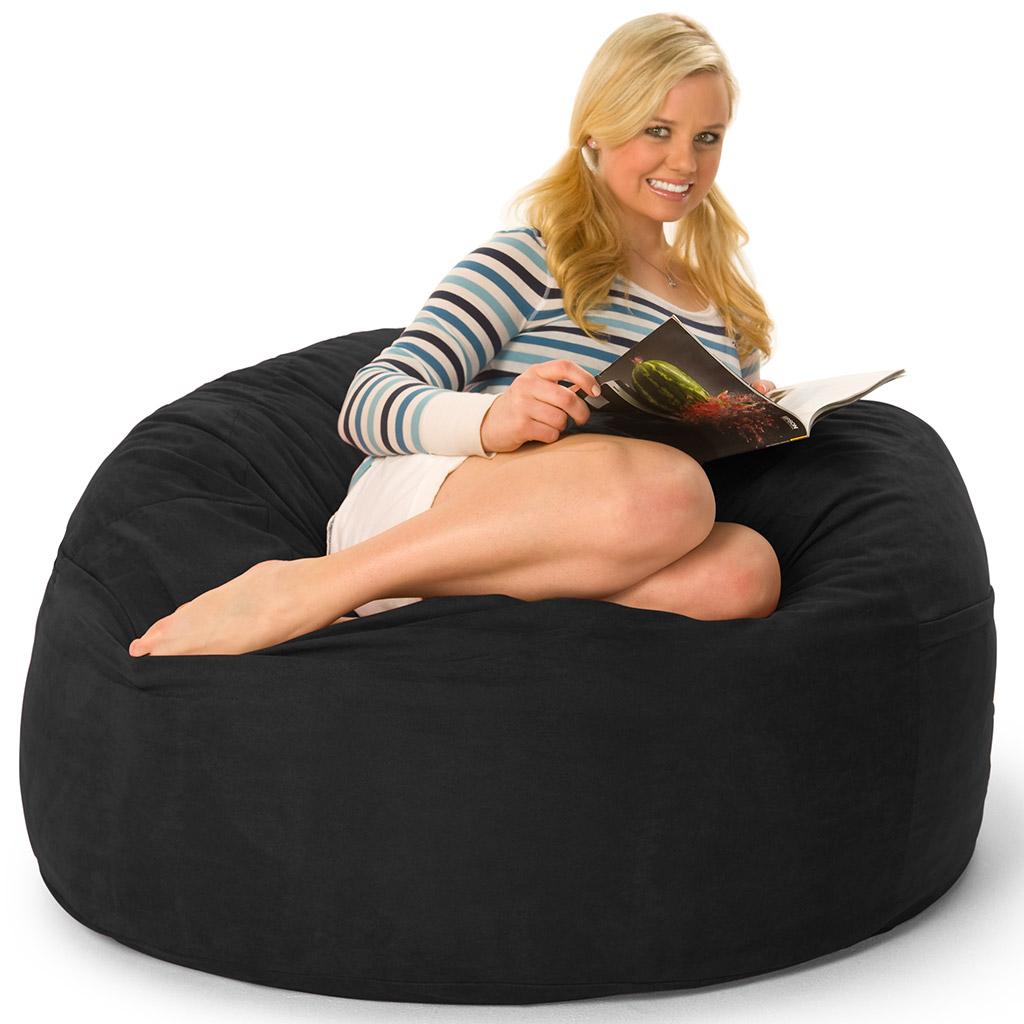 Prime 4 Foot Oversized Foam Filled Bean Bag Cjindustries Chair Design For Home Cjindustriesco